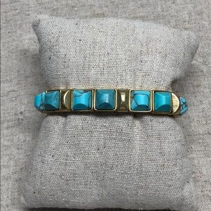 Stella and dot turquoise bracelet